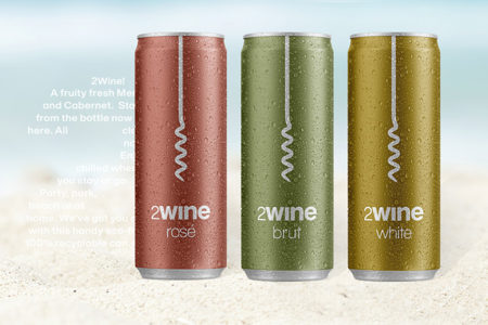 Ardagh Wine Cans provide summer drinks from 2Wine