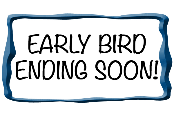 Early Bird Discount has ended