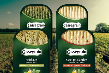 Bonduelle choose Ardagh can for Cassegrain range